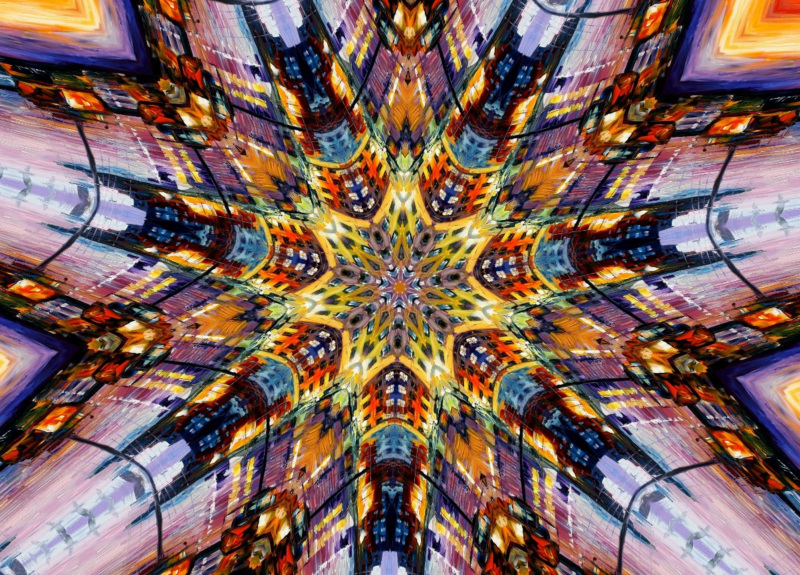 Kaleidoscope Photo Effect Preview